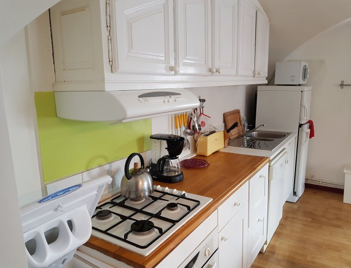 Cuisine Appartement CôteBelle La Girandole Arvieux en Queyras
