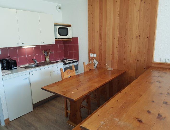 """Cuisine Appartement """"Centauré"""" Arvieux en Queyras"""