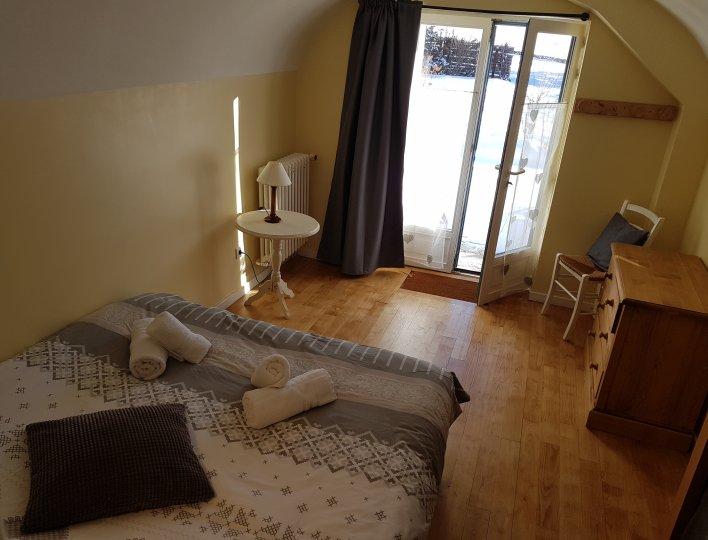 Chambre Appartement CôteBelle La Girandole Arvieux en Queyras