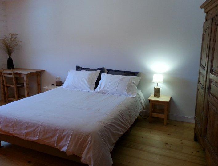Chambre 1 appartement Soleil Chalet Rochebrune