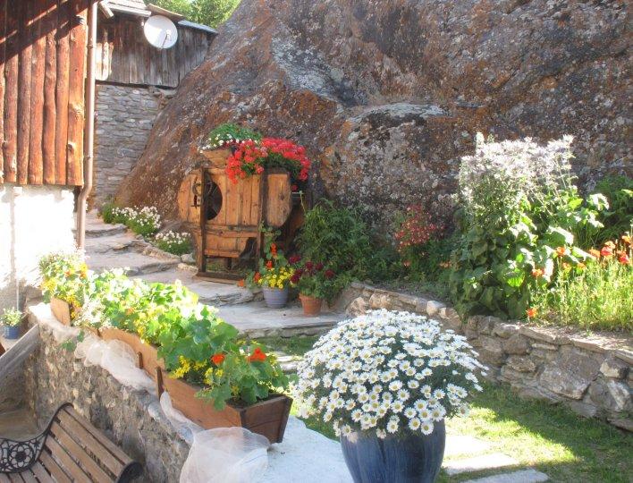 acces arriere chalet rochebrune a saint veran