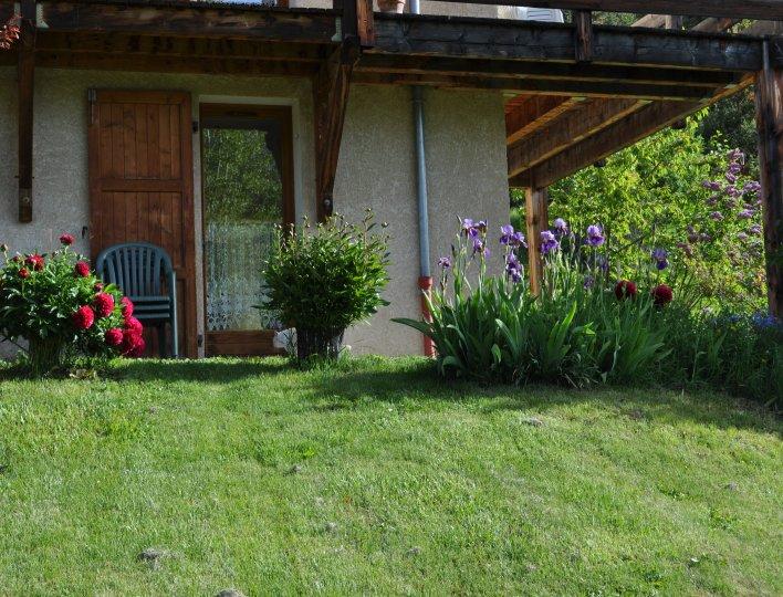 terrasse / jardin non clos