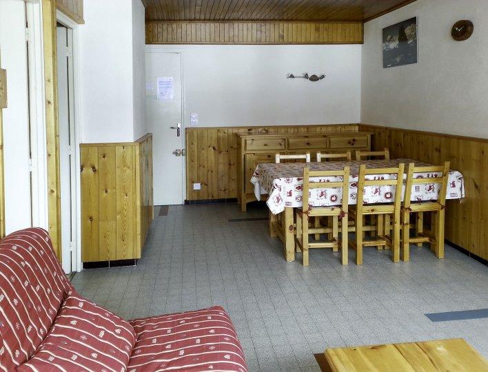 Chalet Les Heuvières - Appartement à Ceillac - Salon et salle à manger