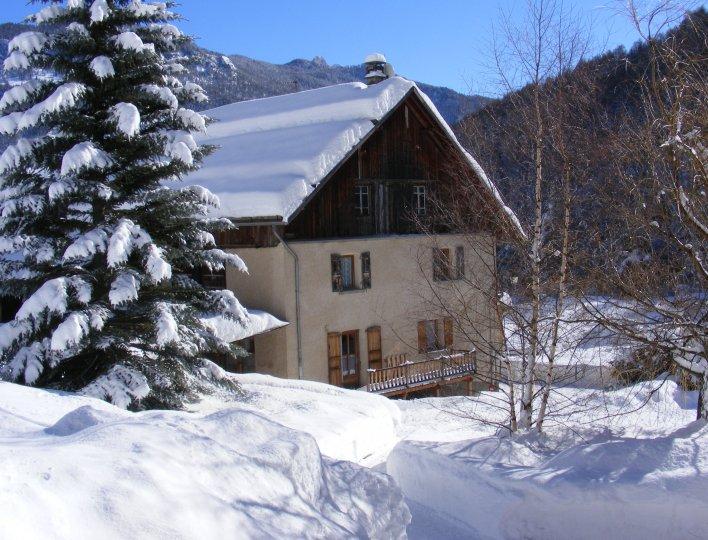 les Moulins l'hiver