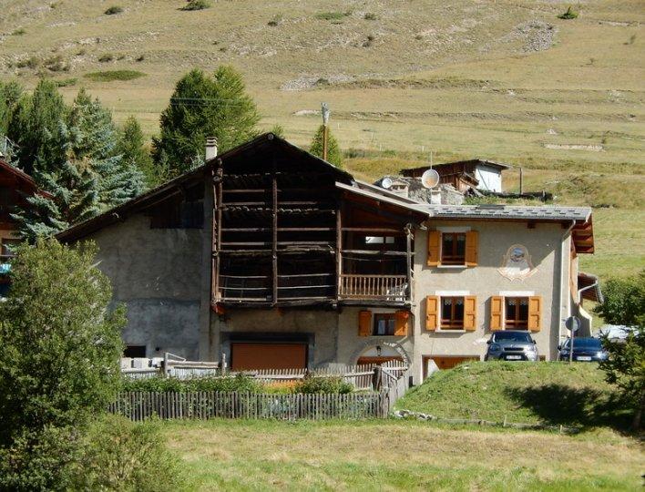 Une maison traditionnele du Queyras