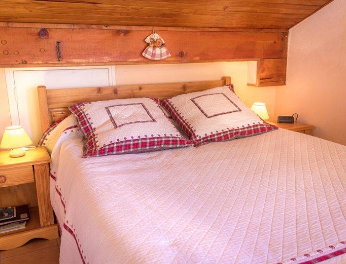 Chalet Lou Peyroc à Ceillac - Appartement 2 personnes 2* chambre