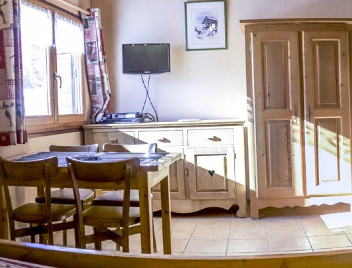 Chalet Lou Peyroc à Ceillac - Appartement 2 personnes 2* sejour