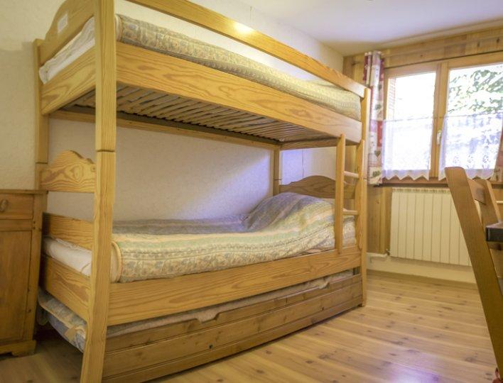 Chalet Lou Peyroc à Ceillac - Appartement 5 personnes 2* chambre